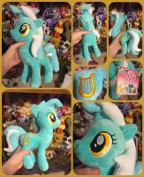 ( MLP ) Lyra Heartstrings OnlyFactory Plush by KrazyKari