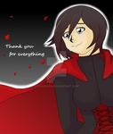 RWBY - Ruby's Thanks by chihano14