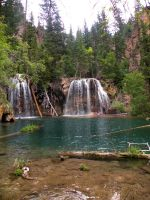Hanging Lake by JadedFever