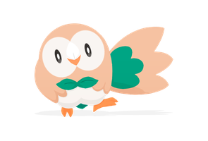 Rowlet by shadeJZ