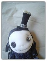 Funny dead girl with a hat 2 by SoLbizaRk