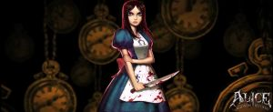 Alice Madness Wallpaper by xLostRemedyx