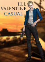 Jill Valentine - Casual - XPS by xZombieAlix