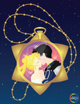Serenity and Endymion- Crystal pocket watch ver. by SugarStarlight