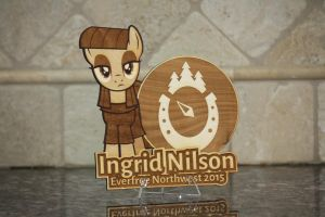 Ingrid Nilson EFNW 2015 Plaque by Earth-Pony