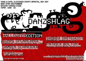 DANZSHLAG poster by object000