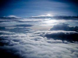 In the Clouds 1 by prints-of-stock
