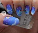 Magic Carpet Nail Art by Ithfifi