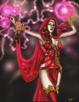 Scarlet Witch by JessLewis