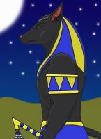 Anubis Request for x-Memoire-x (update) by TheGreyPersona