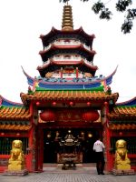 Chinese Temple by Derek7