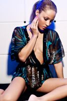 Djamila blue shades prt2 by Olofwessels