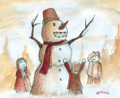 Monsterous Snowman by FeliusTanaka