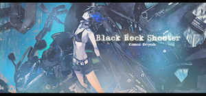 Black Rock Shooter signature by KamuBronikNails