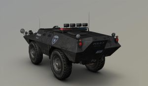 Cadillac V-100 Commando view2 by Awiz