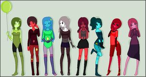 All of my Gems as of 2/15/16! Minus one... by NyanCat17