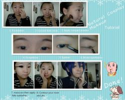 Natural Makeup Cosplay Tutorial by zukitocoser