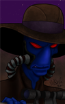 Cad Bane colours by LisaSky-Art
