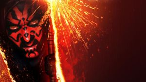 Star Wars Episode I The Phantom Menace 3D by vgwallpapers