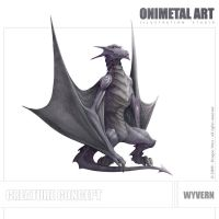 Dragon Wars - Wyvern by Onimetal