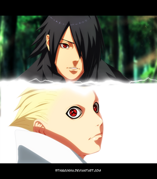 Naruto 700.2 - A new Uchiha by StingCunha