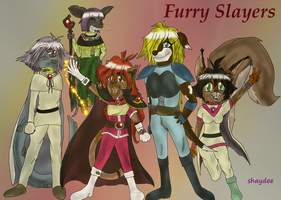 Furry Slayers by The-Real-Shaydee
