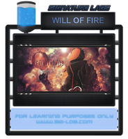 Will of Fire PSD by rafdesigns