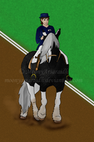 LSF Summer Show - Dressage by MoonyArsaraidh