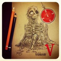 V is for Valdemar by Disezno