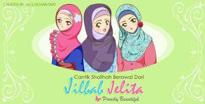 Commis : Jilbab Jelita Header Blog by tieq