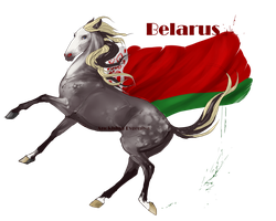 Horse Hetalia:  Belarus by Moon-illusion