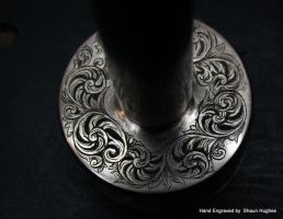 Hand Engraved ScrollworkPocket Top by Shaun Hughes by shaun750