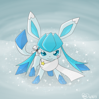 Pokemon OC: Bluekiss- Diamond Dust Flurry by Bluekiss131