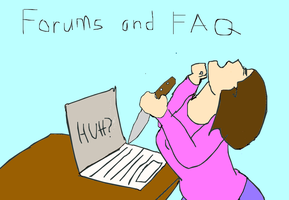 I Hate Forums by katiejo911