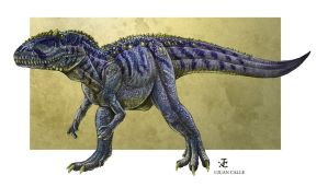 Giganotosaurus color study by Onikaizer