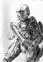 Sketchbook: Master Chief by hollytheguitargod