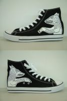 Wolf Sneakers by Teagle