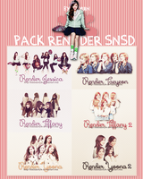 [191214] PACK RENDER SNSD by HunhanStyle