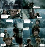 Lord of the Rings Comic 8 by ashantiwolfrider