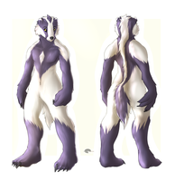 Uncommon anthro : Badger guy by Shalinka