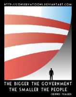 The Bigger the Government no.2 by Conservatoons