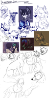 Sketchdumps 8I by SmidgeFish