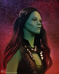Gamora by Gejda