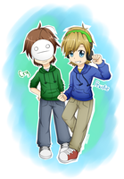 Pewdie and Cry: Bros' everyday by DJSakura-Chan16