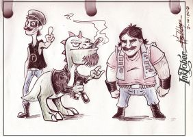 Inktober - Entry: 2-10-2014 by Ben-G-Geldenhuys