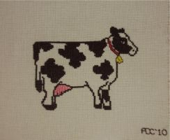 Moocow Cross stitch by audreydc1983