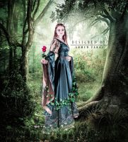 Enchanted Forest Premade by frozenstocks by ahmed1983samawa