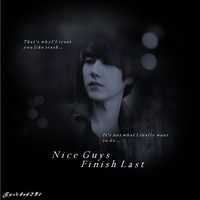 Kyuhyun - Nice Guys Finish Last (poster example) by garche4291