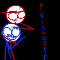 Friendship by Demonic-stickfigures