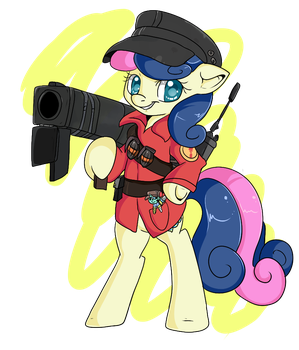 Bon Bon Soldier by bigfatal21